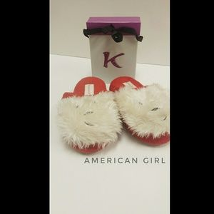American Girl Slippers Size 3.5-5